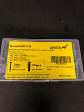 New listing Ansoon Zinc Self-Drilling Drywall Anchors with Screws Kit, 50 Pieces All