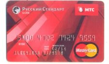 Russia MasterCard Credit Card Russian Standard Bank
