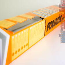 Foliatec 1765 Midnight Reflex Superdark Groß-Set 76x152 & 51x400 tiefschwarz