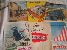 Vintage Butagaz Revue 1940s french great period artwork and advertising