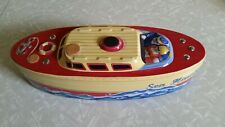 VINTAGE TIN CANISTER SHIP BOAT Sea Hawk B-212 speedboat