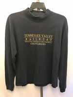 Men's Tennessee Valley Railroad Chattanooga Blue L/S T-Shirt Embroidered L B26