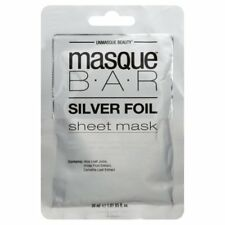 Masque Bar Silver Foil Hydrating Face Sheet Mask NEW