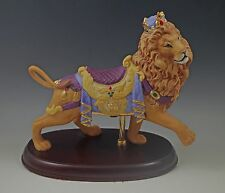 1990 LENOX LTD.ED CAROUSEL ANIMALS -LION- FIGURINE-SCULPTURE