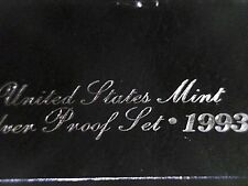 1993 S  Silver Proof  Set