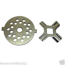 Kitchenaid Food Grinder (FGA) Fine Grinding Plate With A Cutter Blade Knife.