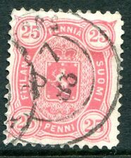 Finland Stamp Scott #22 used 25 penni 1879