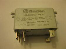 FINDER 66.82.8.024.0300  24VAC 50/60Hz connection faston bracket mountin 2NO