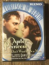 Kino Video Lubitsch in Berlin: The Oyster Princess/I Don't Want to Be A Man; NEW