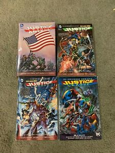Huge Justice League of America lot of Graphic Novels-trade paperbacks tpb JLA