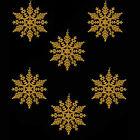 GLITTER ORO / Tinta Unita Decorazioni Albero Di Natale BAGATTELLE STELLE CONI