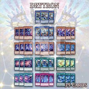 DRYTRON DECK 39 | Meteonis Draconids Quadrantids Nova Fafnir Thuban GEIM YuGiOh