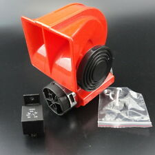 12V Car Snail Compact Dual Tone Electric Pump Siren Loud Air Horn US Free Ship