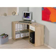 Schreibtisch Eckschreibtisch Büromöbel Bürotisch kompakt Büro Sonoma Eiche NEU