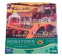 A 1000 PIECE JIGSAW PUZZLE BY HOMETOWN COLLECTION - CAMBRIA FARMERS MARKET