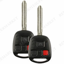 Replacement for Toyota 03-07 Land Cruiser 08-09 FJ Cruiser Remote Key Fob Pair