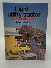 Light Utility Tractor Service Manual Repair John Deere Cub Cadet Kubota 192685HA