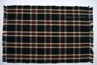 Set of 2 PENNY HILL PLAID Rib Weave Cotton Placemats