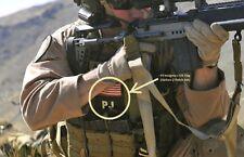 MEDEVAC DUSTOFF TCCC COMBAT RESCUE PEDRO PJ burdock 2-PATCH SET: PJ w/US Flag