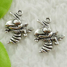 Free Ship 180 pcs tibet silver hornet charms 20x17mm #1600