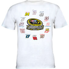"""New~ Sprint Cup Series """"Chase for the Sprint Cup 2012"""" Official T-Shirt~Xlg"""