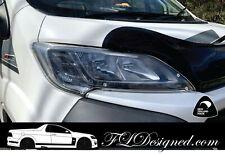 2015- 2020+ FIAT Ducato Van / Peugeot Boxer CLEAR Headlight Protectors, Covers