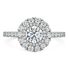 Cut Diamond Engagement Rings Size 6 7 9 Solid 14K White Gold 1.00 Ct Real Round