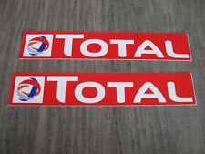Aufkleber Sticker Total ÖL OIL Racing Tuning Biker Autosport Motorsport GT Race