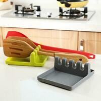 Kitchen Spatula Drain Rack Spoon Knife Pot Lid Rest Holder Tableware Organizer