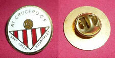 ATLETICO CRUCERO CF of CATALONIA, SPAIN - Original Football Pin 1970's