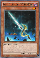 Yugioh 3x CHIM-EN021 - World Legacy - World Key - Common - 1st Edition