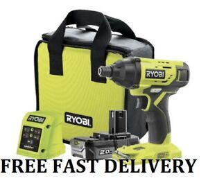 Ryobi R18ID2 120S5 18v ONE+ Cordless Impact Driver, FREE FASTDELIVERY