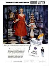 1952 Herbert Tareyton PRINT AD Cork Tip Mrs J. K. Mackenzie Pringle