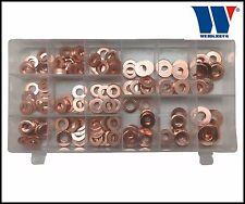 Werkzeug-CDI Common Rail Diesel Injektor Kupfer Unterlegscheiben Metrisch 150 teilig - 4008