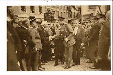 CPA Carte Postale Belgique-Dinant-Inauguration par le Prince Léopold du monument