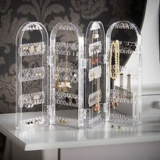Beautify Acrylic Jewelry Holder Organizer Display Earring, Necklace and Bracelet