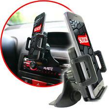 scozzi® Handyhalterung Auto CD Schlitz Universal KFZ PKW Smartphone Navi Halter