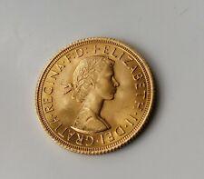 More details for 1963 full gold sovereign elizabeth ii laureate bust