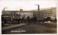 Stocksbridge near Sheffield. Works.