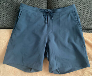 """Ten Thousand 7"""" Foundation Shorts Liner Stone Blue Large Discontinued Color EUC"""
