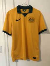 2014 2015 Australia Soccer Jersey Socceroos Medium Nike Cahill World Cup