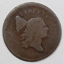 1795 C-5a R-3 LDS Liberty Cap Half Cent Coin 1/2c
