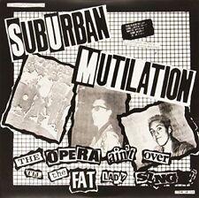Vinyl LP 45 RPM SUBURBAN MUTILATION - OPERA AIN'T OVER TIL THE FAT LADY SINGS