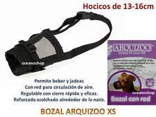 BOZAL de NYLON ACOLCHADO ARQUIZOO para perro XS HOCICOS 13x16cm regulable