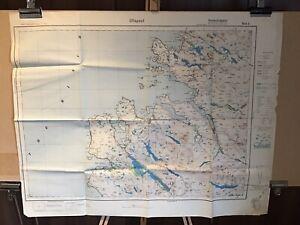 German Map of Ullapool (c1938) Scotland Sheet 8