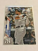2020 Topps Baseball Base Card - Aaron Judge - New York Yankees