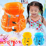 Kids Inflatable Swim Vest Swimming Pool Float Safety Buoyancy Life Jacket Aid US