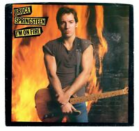 Bruce Springsteen 1984 Columbia Promo 45rpm I'm On Fire b/w same