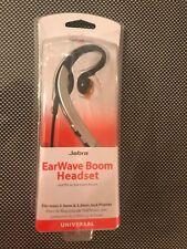 Verizon Jabra C510 JABBUZWAVT25 OEM EarWave Boom Headset 2.5mm & 3.5mm adapter