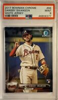 2017 Bowman Chrome Dansby Swanson Rookie  PSA MINT 9
